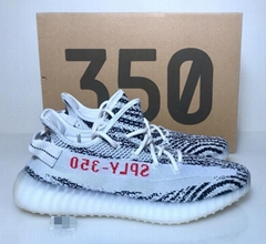 3a1f3815a Adidas Yeezy Boost 350 V2 Zebra 2019 CP9654 White Black Red Size 5-12 Kanye