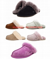 Women's Shoes UGG Scuffette II Slippers Black Chestnut Sand Grey Pink Espresso