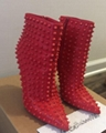 Spiked Leather Boot wholesale shoes