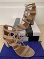 Aquazzura Holli 85 Caffe Latte Beige