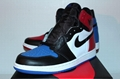 Air Jordan Retro 1 I Top 3 Blue Red