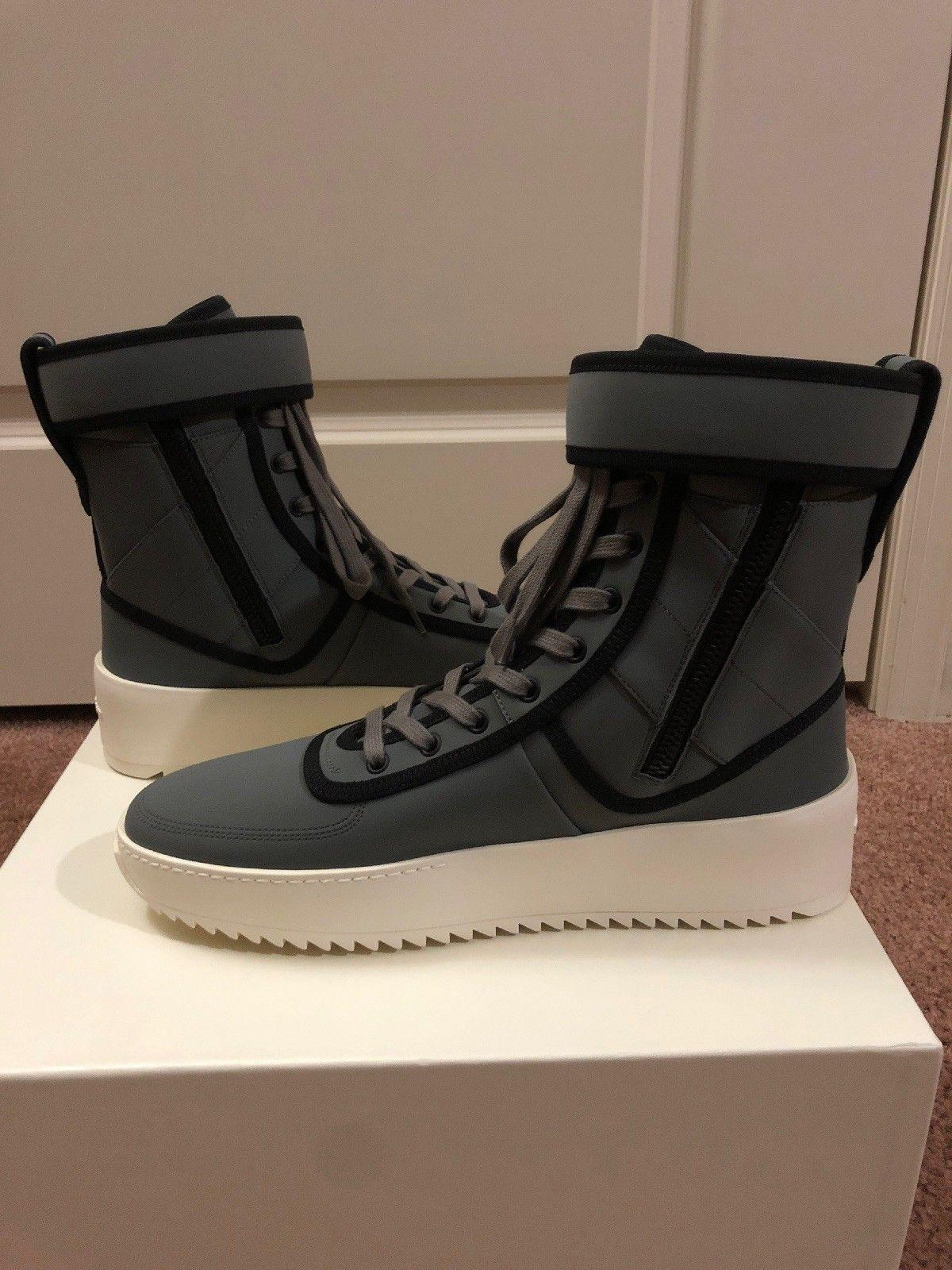 Fear Of God Military Boot OG Gum Bottom FOG Jerry Lorenzo men women boots shoes  4