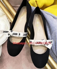 2019 dr womens Round-toed flat shoes Elegance and Girl Innocence Gauze upper