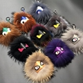 Fendi Fur Monster Charm for Men s Bag Fendi dyed fox fur (Finland) monster charm