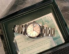 ROLEX DATEJUST 16200 OYSTER 36MM BAND Silver Dial Circa 2001