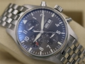 IWC Pilot's Chronograph Spitfire IW377719 Grey Dial 43mm - 2018 Box & Papers