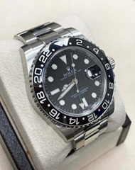 Rolex GMT Master II 116710 Ceramic Stainless Steel Box & Papers 2011