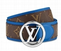 Louis Vuitton CIRCLE 40MM BELT LV buckle