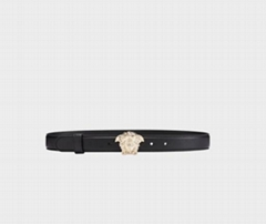 Ver sace PALAZZO CALF LEATHER BELT Men versace medusa belt