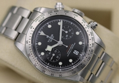 Tudor Black Bay Chronograph 79350 Stainless Steel Rivet Bracelet - Box & Papers