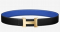 Hermes Constance buckle belt Men