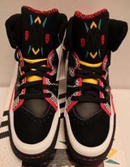Adidas Dikembe Mutombo Rare Black Red 55 Sneakers Men's Size available