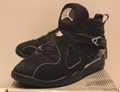 Air Jordan Retro 8 VIII Chrome Black