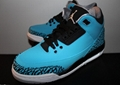 Air Jordan Retro 3 III Powder Blue Black