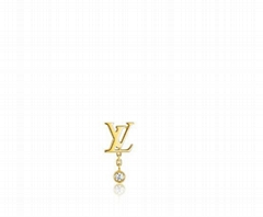 Louis Vuitton IDYLLE BLOSSOM LV EAR STUD YELLOW GOLD AND DIAMOND LV earrings
