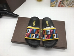 Fendi Kids Sandals Slides luxury Designer strap Shoes Girls Boys Toddler