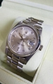 Vintage Rolex Day-Date 1803 18k White Gold Presidential White Stick Dial