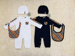 Burberry baby's jumpsuit jumpsuit kids burberry layette