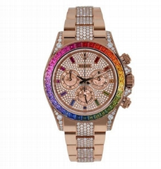 Rolex Cosmograph Daytona Everose Rainbow Watch cheaper price for sale