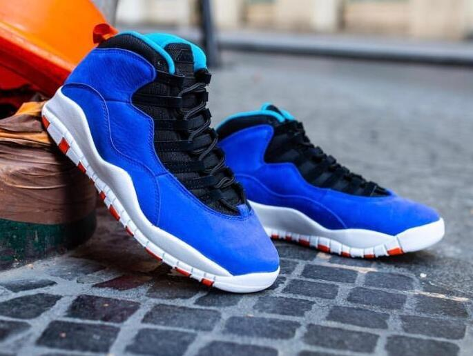 low priced 8a253 79acb air jordan 10 retro tinker Royal blue Basketball shoes ...