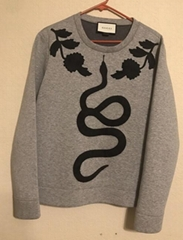 Gucci sweatshirt Size S Long sleeve pullover top loose sweater fashion snake