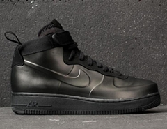 nike air force 1 foamposite cup triple black cheap price for fashion sneaker