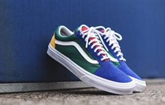 vans old skool yacht club Color matching OS low to help fur canvas shoes