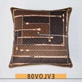 Louis Vuitton x Supreme red color Cushion Pillow Monogram MP1886 Unused From JPN