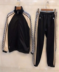 Gucci tracksuit activewear set Oversize technical jersey jacket jogging pant