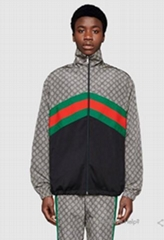 Gucci tracksuit activewear Oversize technical jersey jacket nylon jogging pants