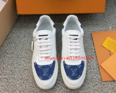 Louis Vuitton Rivoli Sneaker 1A3MI4 Flat-bottom high-top casual sport shoes