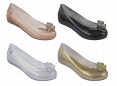 Melissa Ultragirl + Cinderella Butterfly Disney Licensed Jelly Shoes