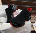 Christian Louboutin Spike Sock Donna Neoprene SNEAKERS TRAINERS