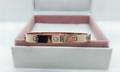 18k Yellow Gold Cartier Love Bracelet with 4 Diamonds