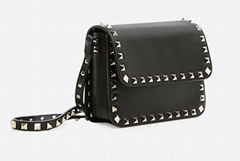 Valentino Garavani Rockstud small cross-body bag in calfskin