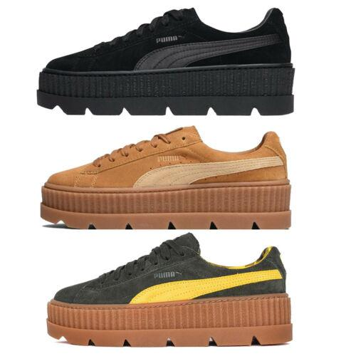 best loved 36714 84f91 PUMA Fenty X Rihanna Cleated Creeper Shoes Ladies Black ...