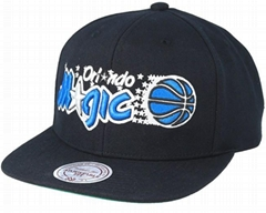 Shop Orlando Magic Full Dollar Black Snapback - Mitchell & Ness caps