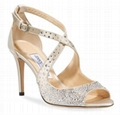 Jimmy Choo Emily Crystal-Embellished