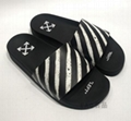 Off-White Men's Spray-Stripe Pool Slide