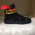 Off-White Men's Industrial High-Top