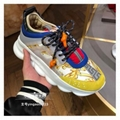 Versace Chain Reaction Barocco-Print Chunky-Heel Sneakers cheap shoes on sale