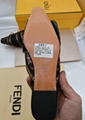 Fendi FF Fabric Sabots Slippers 2019 summer day new style cheap desgin flats 8