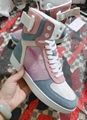 Louis Vuitton Rainbow Laser Magic Shoes pvc lace-up LV casual board Trainer 8