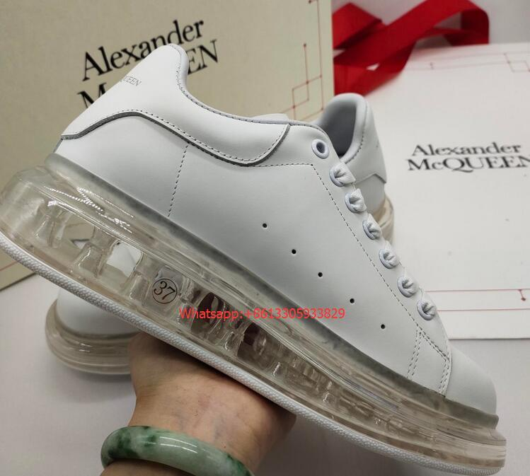 2019 Mens Sneakers McQ Air cushion Style with 2 Colors Option— white