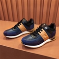Fendi FF Embroidered colorblock leather sneakers shop designer men women shoes