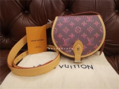 Louis Vuitton Tambourin Monogram Canvas Crossbody Shoulder Bag LV handbag cheap