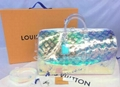 Louis Vuitton PVC Petite Boite Chapeau Bag lv round box transparent Plexiglass