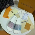 Louis Vuitton Rainbow Laser Magic Shoes pvc lace-up LV casual board Trainer 9