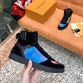 Louis Vuitton Rainbow Laser Magic Shoes pvc lace-up LV casual board Trainer 11