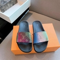 Louis Vuitton Rainbow Laser Magic Shoes pvc lace-up LV casual board Trainer 14